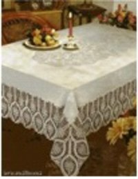 Lace Vinyl Table Cover