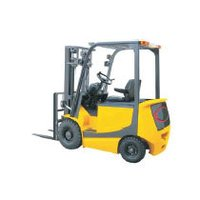 4 Wheel Electric Forklift Truck