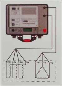 Three Phase Transformer Turns Ratio Meters