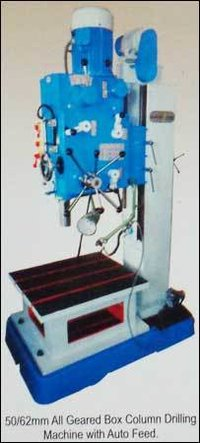 All Geared Box Coloumn Drilling Machine With Auto Feed