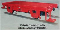 Material Transfer Trolley (Electrical Battery Operated)