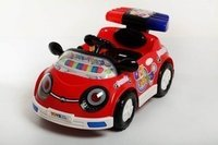 Battery Operated Children Cars (Police Car Spoiler)