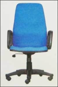 High Back Ink Blue Office Chair