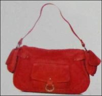 Attractive Red Color Ladies Hand Bag