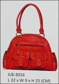 Attractive Red Ladies Hand Bag
