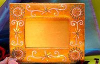 Beaded Picture Frames (NIF-558)