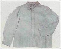 Split Welding Leather Jacket