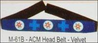 ACM Head Belt - Velvet