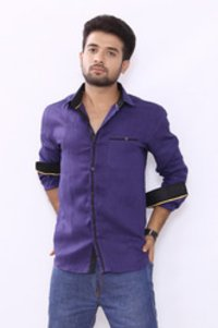 Party Wear Linen Shirt