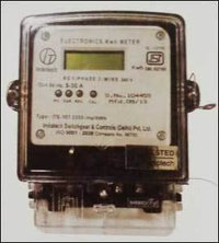 Single Phase Meter Electronic