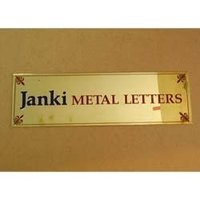 Office Acrylic Name Plate