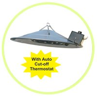 Poultry Gas Brooders With Automatic Cut Off Thermostat