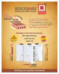 Instant Gas Water Heaters