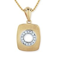 Men Diamond Pendant (Design No: Gp011y)