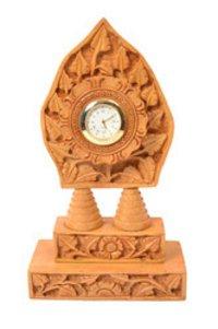 Wooden Trophy Clock