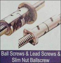 Ball Screws & Lead Screws