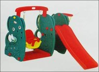 Elephant Slide With Swing Set Toy