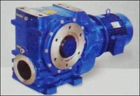 Right Angle Heliworm Geared Motor