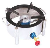 Round SS Canteen Gas Burner