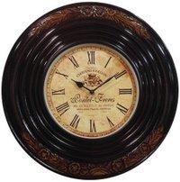 Carving Polish Antique Clock
