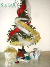 Christmas Decorative Net Fabric