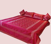 Indian Embroidered Bedspreads Bed Cover