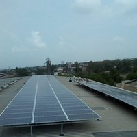 Roof Top Commercial Solar Panels