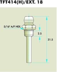 Thread Forming Thread Grease Fitting