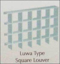Pvc Square Louver