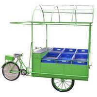 Fruit And Vegetable Vending Cycle Cart