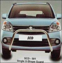 Front Safety Car Guard (Single U Shape Guard)