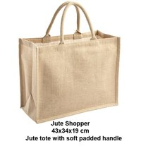 Jute Tote Bag Mlg International