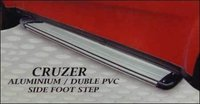 Aluminium And Double Pvc Side Car Foot Step