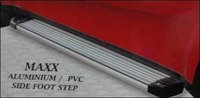 Aluminium And Pvc Side Car Foot Step (Maxx)