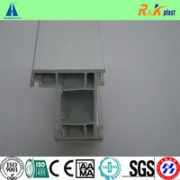 60mm Casement Series White Upvc Window Profiles For Frame