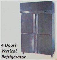 4 Doors Vertical Refrigerator