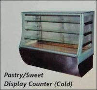 Pastry and Sweet Display Counter (Cold)