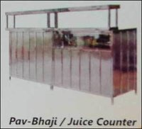 Pav Bhaji And Juice Counter