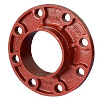 FM UL Approved Grooved Pipe Flange Adaptor