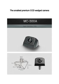 Car Rear View Reverse Backup CCD Camera-A