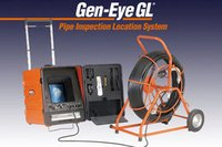 Push Road Cctv Camera Unit For Pipe Line Inspection