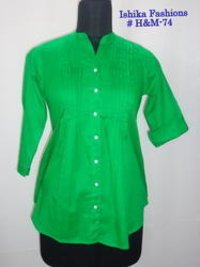 Trendy Ladies Cotton Tunic