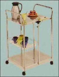 Stainless Steel Moving Trolley