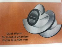 Quill Worm For Double Chamber Expeller