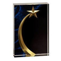 Shooting Star Acrylic Award