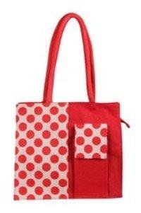 Mobile Pocket Jute Bag
