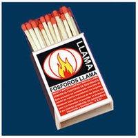 Fosforos Llama Veneers Matches