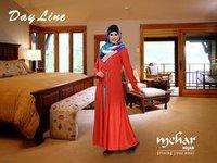 Day Line Jalabiya Muslim Dress