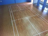 Durable Badminton Court Wooden Flooring