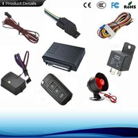 Auto Vehicle Universal Security Alarm System With Sensor And Power Window